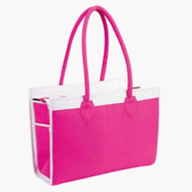 Elegant Baby Large Diaper Bag- Pink