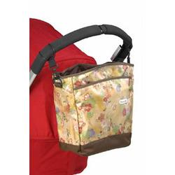 Sling Tote Diaper Bag in Yellow Seedpod