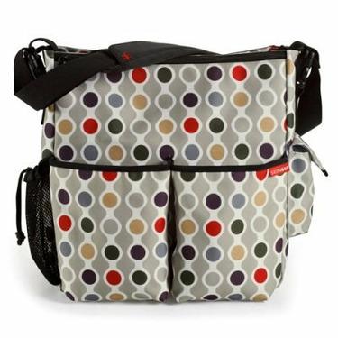 Skip Hop Duo Deluxe Edition Diaper Bag - Wave Dot - SKH069-1