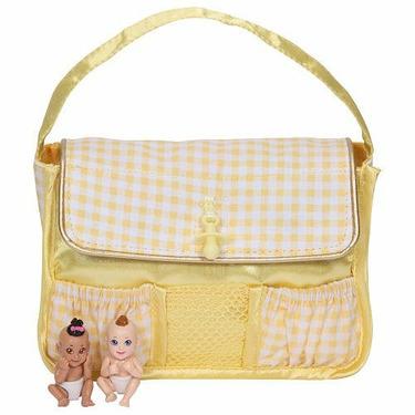 Baby In My Pocket Diaper Bag - Yellow