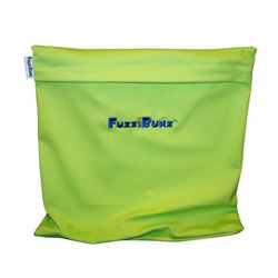 FuzziBunz Reusable Travel Diaper Tote Wet Bag - Butter