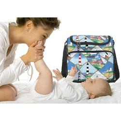 Lighthouse Diaper Bag - Baby Bag for New Dad Father or Mom NEW Mother Baby Shower Gift Idea