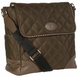JP Lizzy Mocha Mint Clara Shoulder Bag