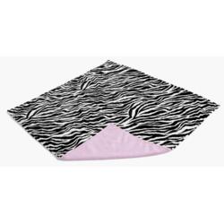 Gentle Kids wear Mnb - Zp Mini-Blanket - Zebra and Pink