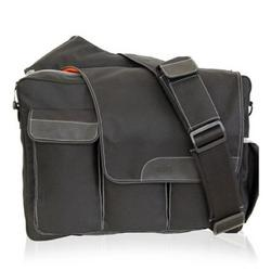 Diaper Dude Messenger II in Black