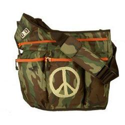 Diaper Dude Peace Diaper Bag - Camouflage