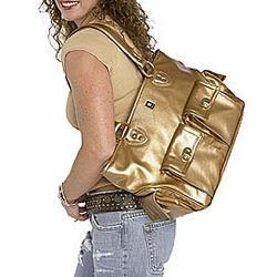Cargo Diaper Bag in Bronze
