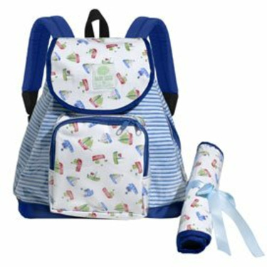 Sailboat Backpack Diaper Bag