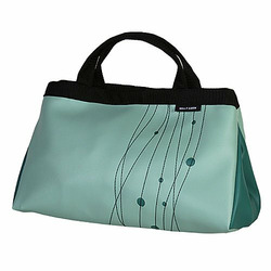Jade Taxi Large Snap Side Doctor Tote