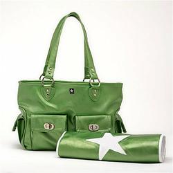 Cargo Diaper Bag in Green