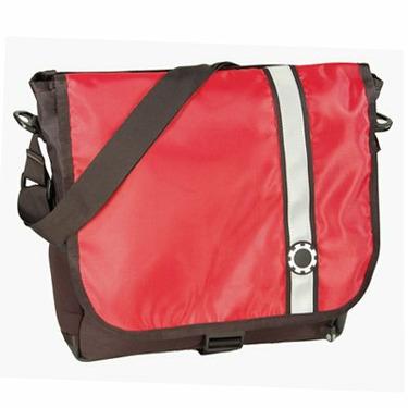 DadGear Sport Diaper Bag - Retro Stripe Red