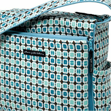 Juniper Berry Shoulder Diaper Bag
