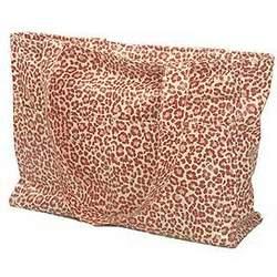 Wild Pink Leopard Tote Diaper Bag