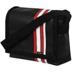 Black Airborne Messenger Bag