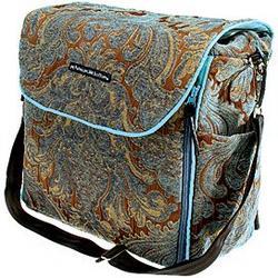 Velveteen Backpack Diaper Bag