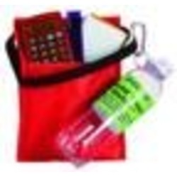 School Lunch Bag with School Supplies