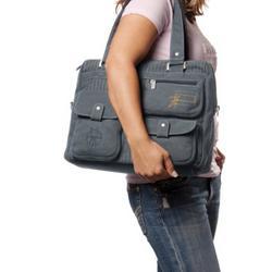 Lassig Vintage 5 Pocket Tote Bag Diaper Bag