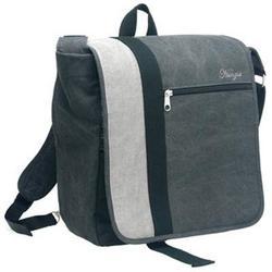 Gray Nunzia Design Ryan Bambino Diaper Bag