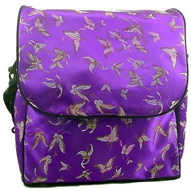 Purple Butterfly Diaper Bag