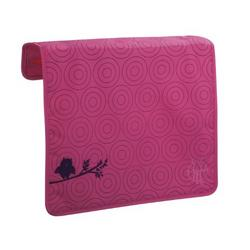 Lassig Front Cover For Messenger Bag, Flock Magenta