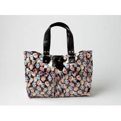 Sophie's Black Designer Diaper Bag Carry All