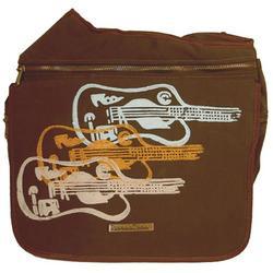 Diaper Dude Messenger Diaper Bag in Guitar
