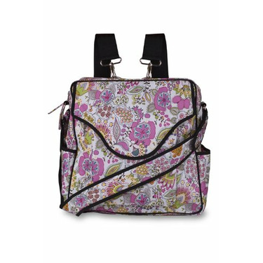 Dhara Diaper Bag in Double Happiness