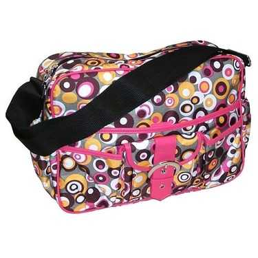 Baby & Co KC1033 Bubbles Pink Multitasker Bag