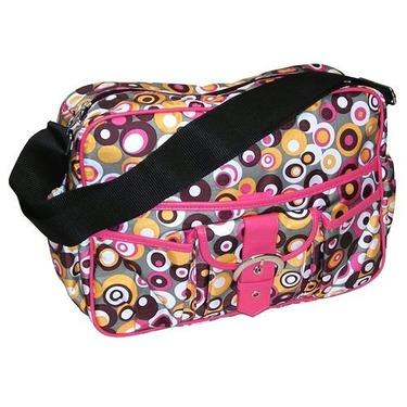 Baby & Co KC1033 Bubbles Pink Multitasker Bag