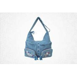 Hello Kitty Shoulder Bag: Denim