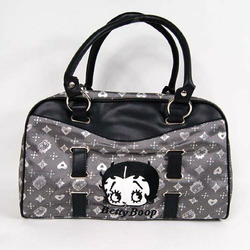 Betty Boop Hand Shopping Bag Handbag Tote Black