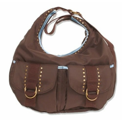 Sage Hobo Diaper Bag