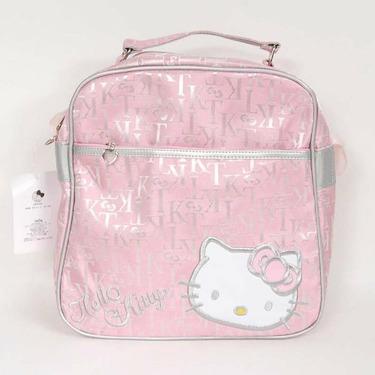 Hello Kitty Square Shoulder Bag Tote Handbag Pink