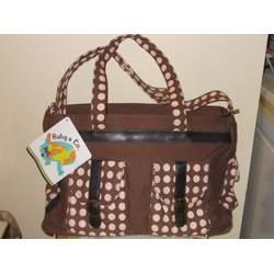 Kalencom Weekender Diaper Bag Brown