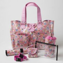 Rock N' Moms Sofie's Pink Carry-All Diaper Tote - Perfect for the Chic Mama!