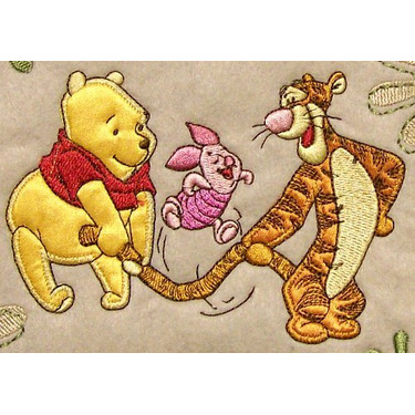 Disney Baby Winnie The Pooh Green Mini Diaper Bag