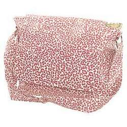 Wild Pink Leopard Shoulder Diaper Bag