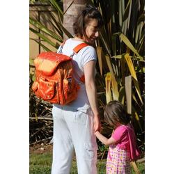 Baby Bee Bags Designer Eglan Bee Silk Diaper Tote, Backpack, Messenger Bag