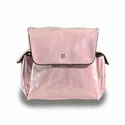 Fleurville Pink Chocolate Mothership Diaper Bag