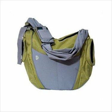 Go Gaga B-SL02 The Slide Diaper Bag in Olive and Gray