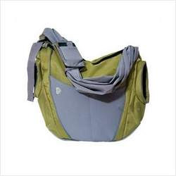 Go Gaga B-SL02 The Slide Diaper Bag in Olive and Gray