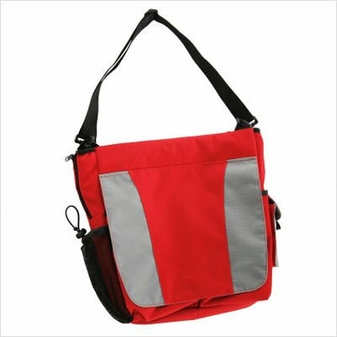 Stroller Diaper Bag Color: (As Shown) Red