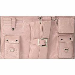 Light Pink Paris Diaper and Laptop Bag