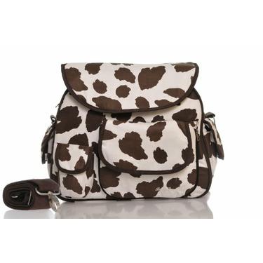 Baby Bee Bags Eglan Line Wild Cow Diaper Tote Bag