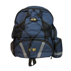 Baby Sherpa Diaper Backpack - Navy Blue