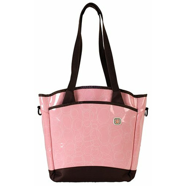 Fleurville Sling Tote Diaper Bag - Many Colors!, Pink Loveknots