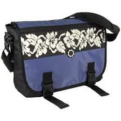 DadGear Messenger Diaper Bag - Hawaiian Blue