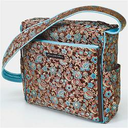 Dogwood Blossom Roll Shoulder Diaper Bag