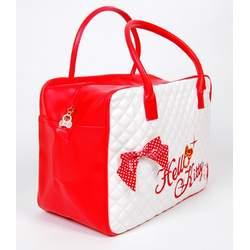 Hello Kitty Girls Large Handbag Hand Bag White