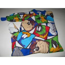 Looney Toons Foot Pajamas 2t